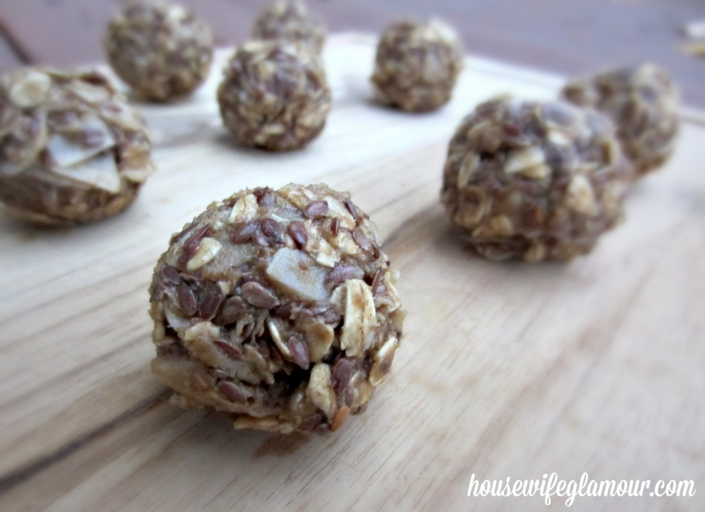 all natural no bake maple syrup energy balls