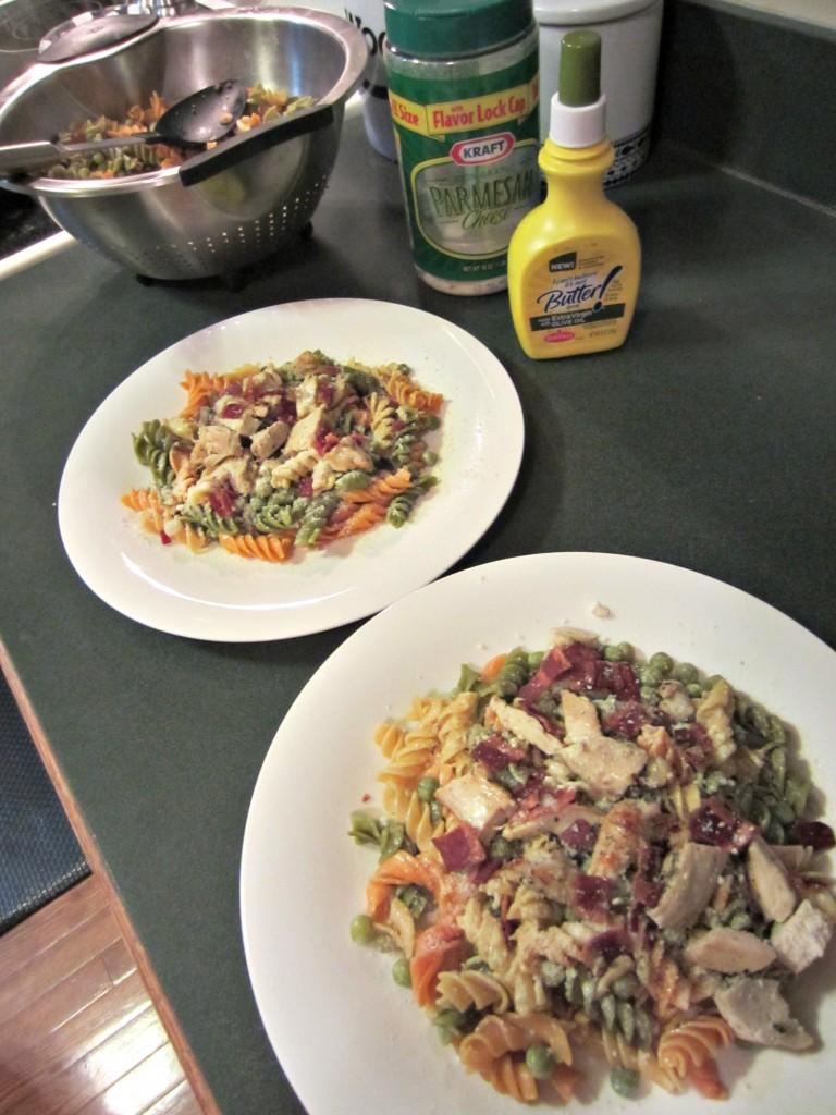 chicken pasta healthy dinner recipe