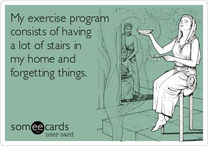 funny workout someecard 3