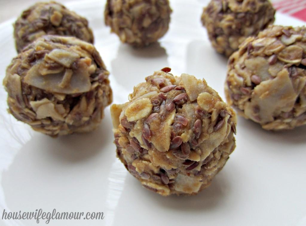 no bake all natural energy ball recipe