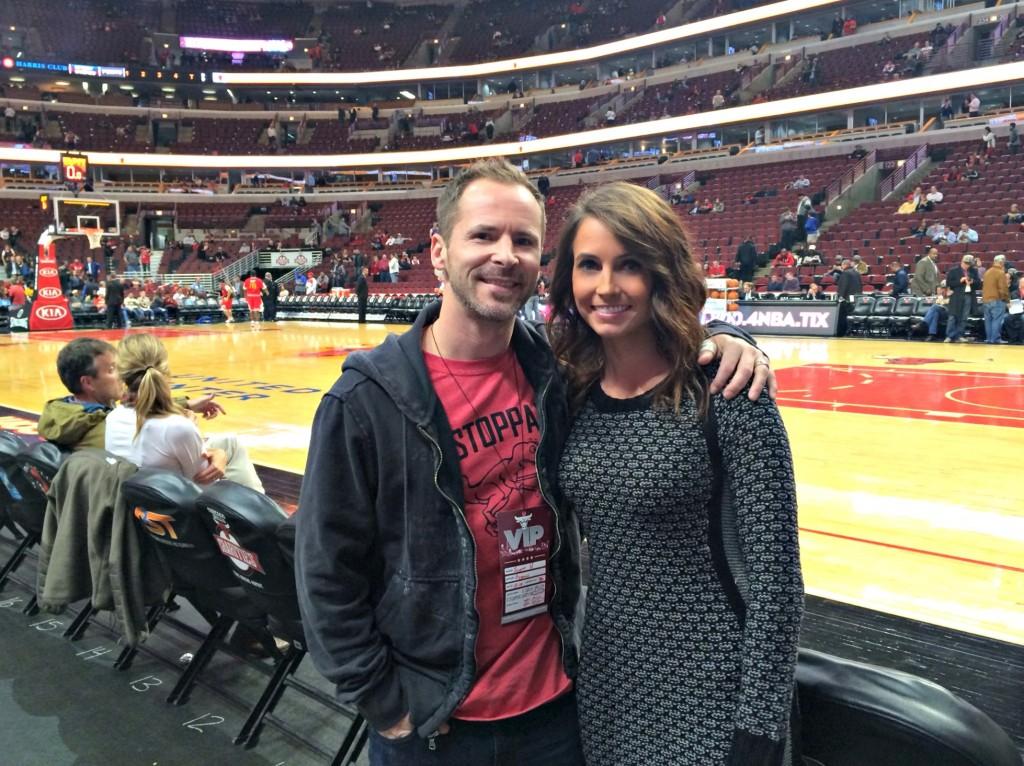 Bulls Game with Scott 2014