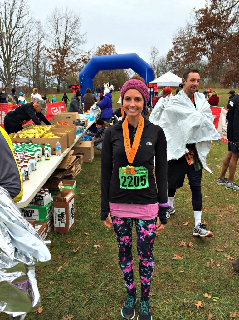 Clarkston Back Roads Half Marathon 2014 Heather