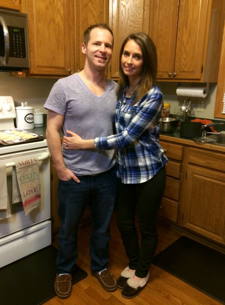 Scott and I at Thanksgiving 2014