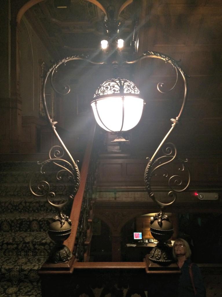 The Whitney Tiffany lantern