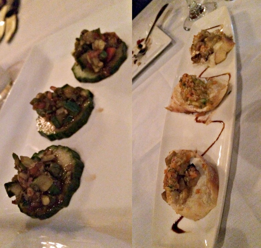 The Whitney appetizers