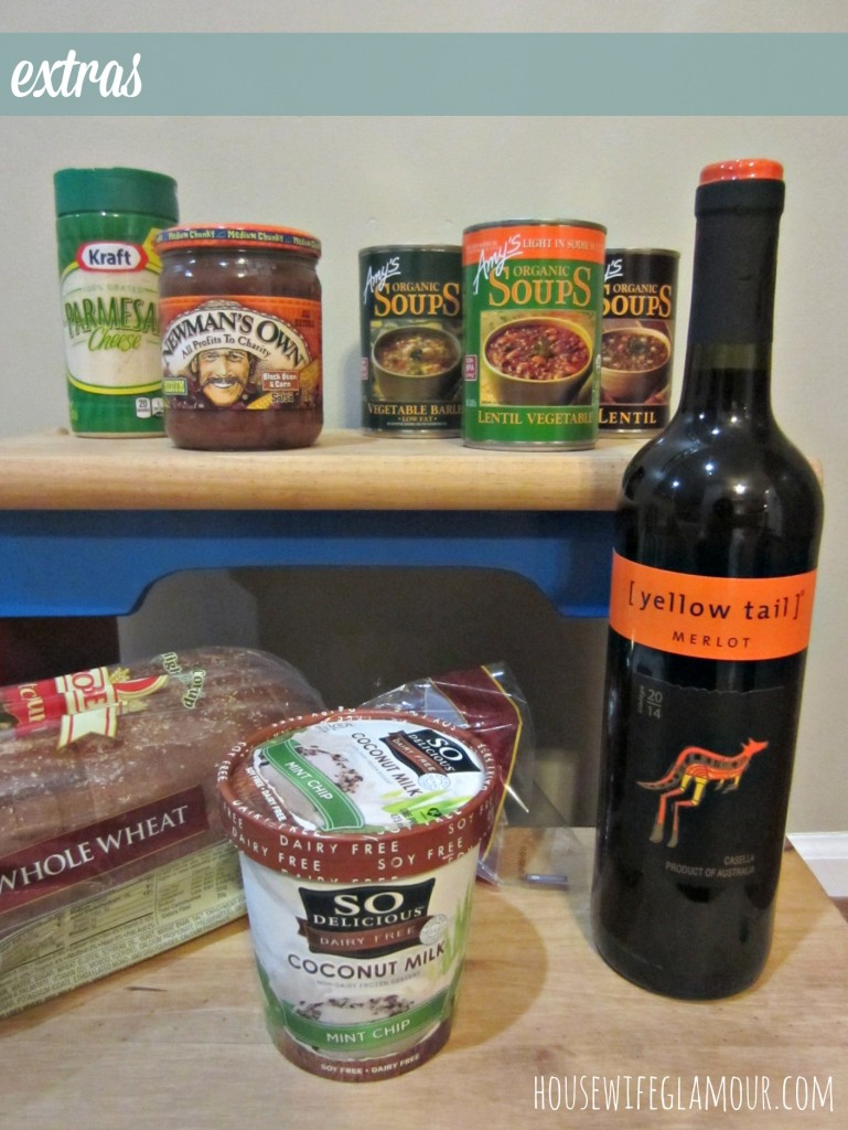 grocery haul extras
