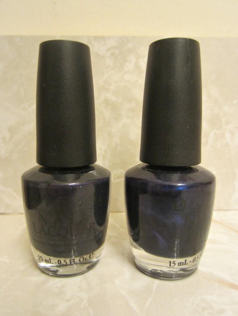 OPI dark nail poilsh