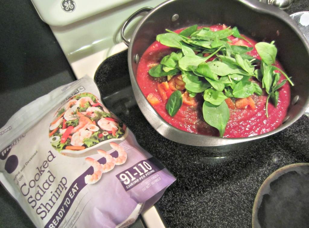 adding ingredients to make pasta healthier