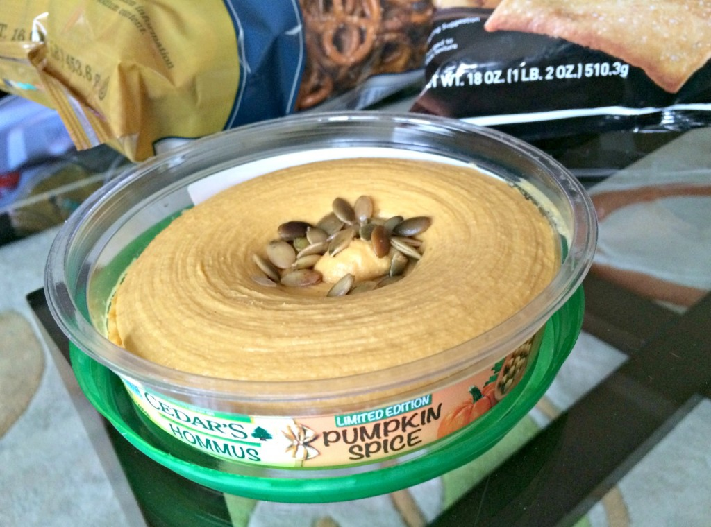 cedar's pumpkin spice hummus