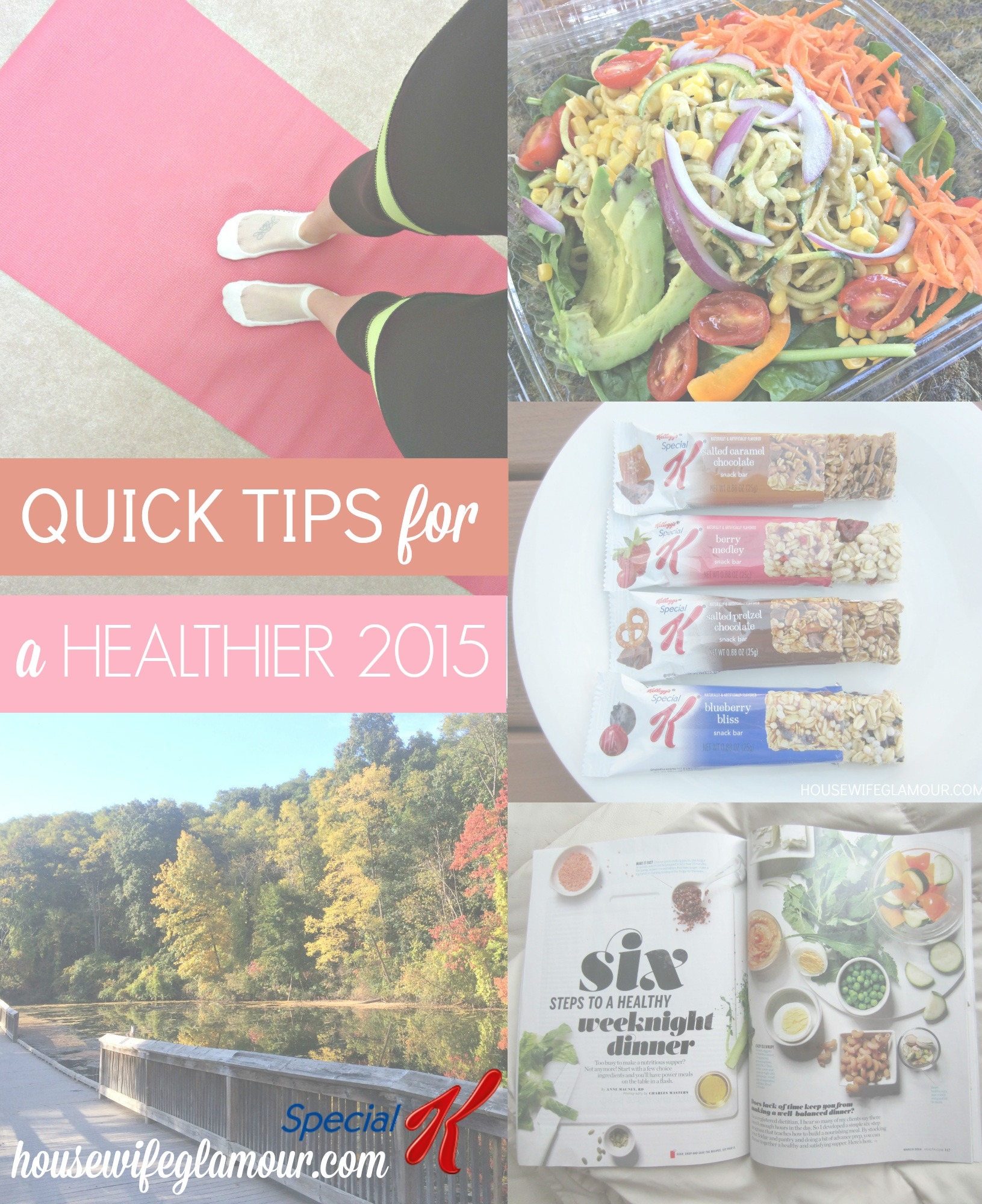 healthy living tips for 2015