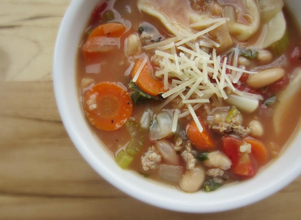 healthy tortellini soup