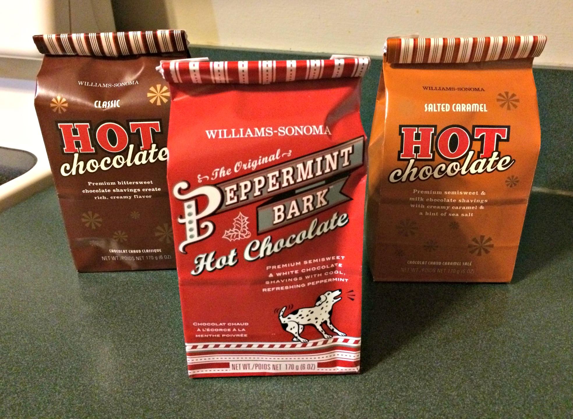 williams-sonoma hot chocolate