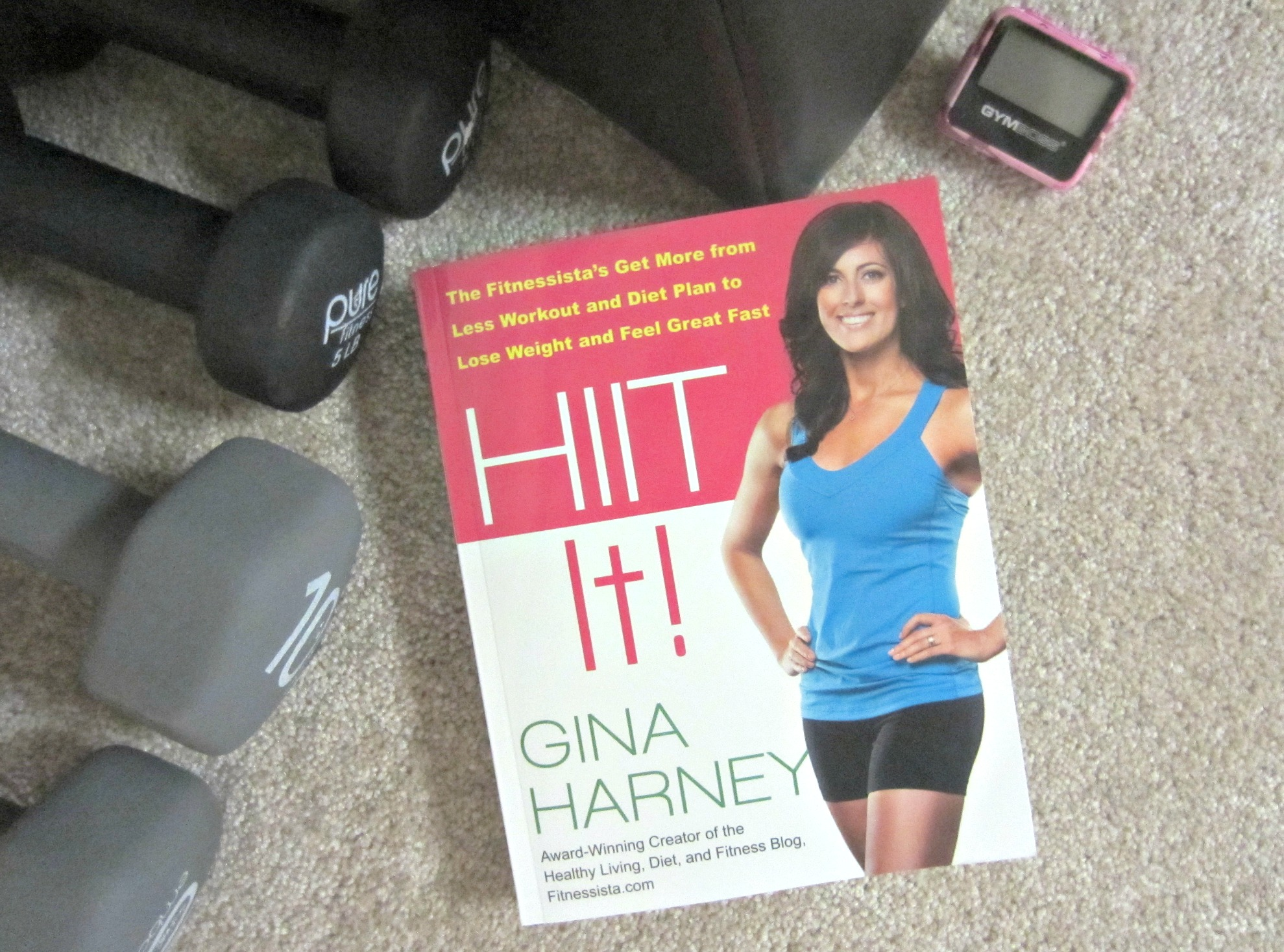HIIT It book review and giveaway