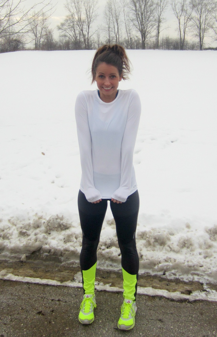 Target C9 running tights and compression shirt