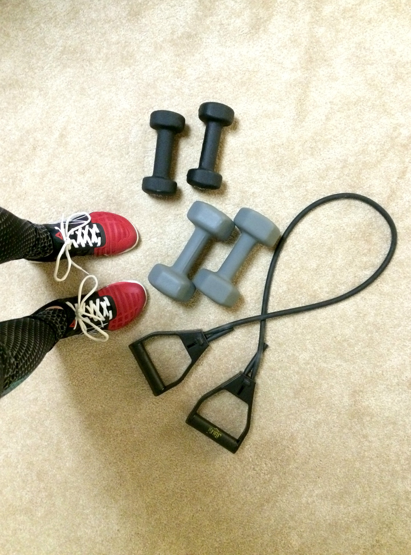 at home dumbbell circuit workout