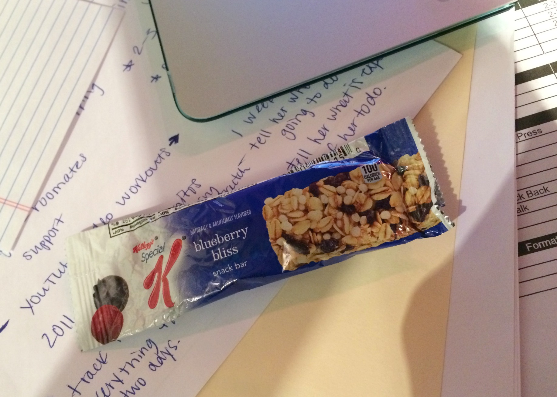 special k blueberry bliss snack bar