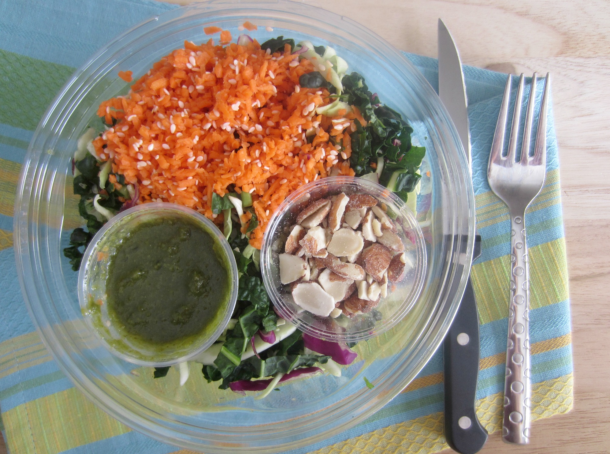 zen salad raw urban remedy